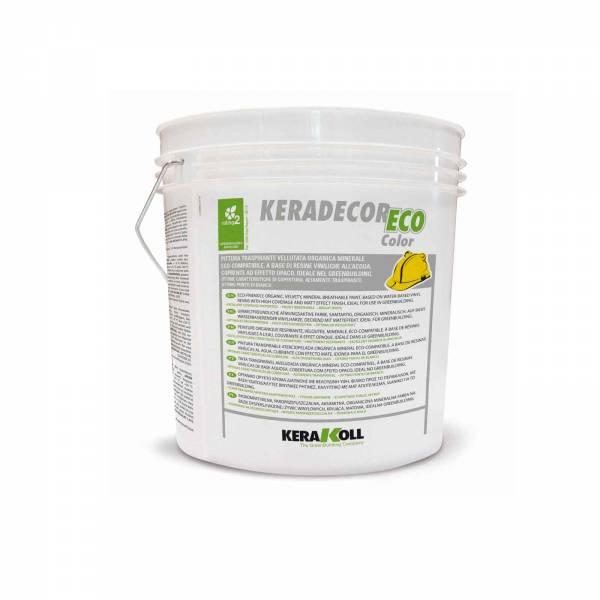 Keradecor Eco Color Blanco y Coloreado