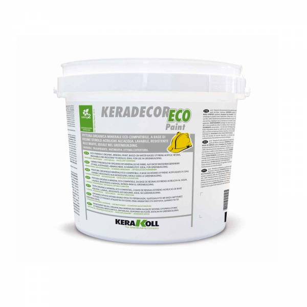 Keradecor Eco Paint Blanco y Coloreado